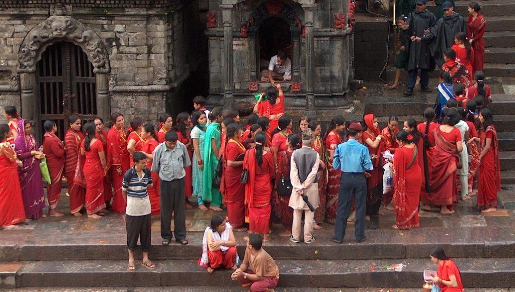 Teej festival Pashupatinath