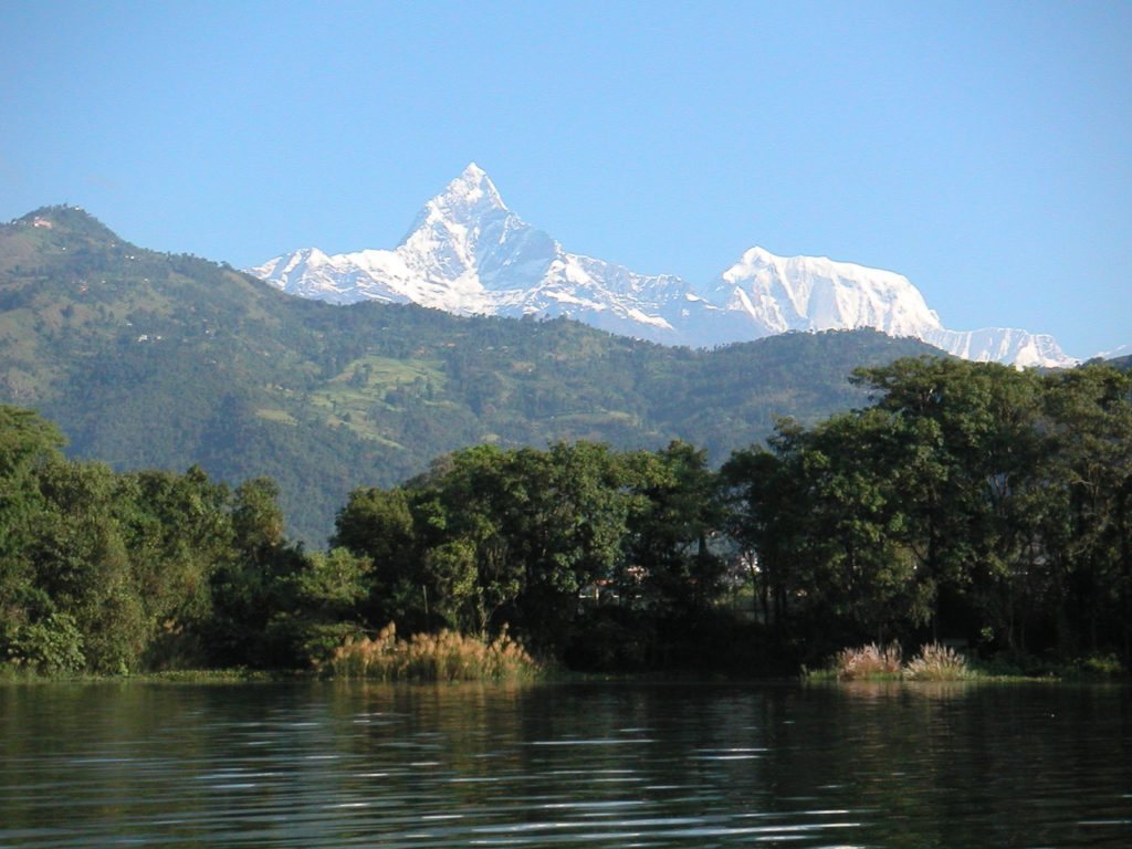 Machhapuchchhre and Annapurna